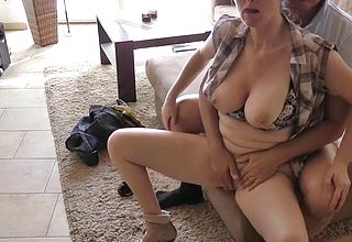 Horny Hubby Ruins His Light haired Mummy Goddess Wifey