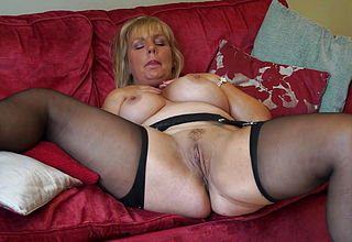 Mature big chested mom with ideal figure