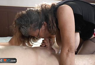 Agedlove granny Screwed Doggy style