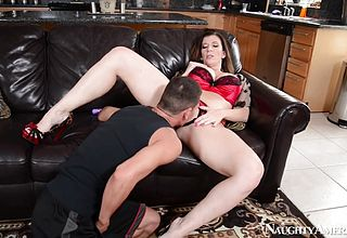 Sara Jay And Tyler Page in My friends Super hot cougar