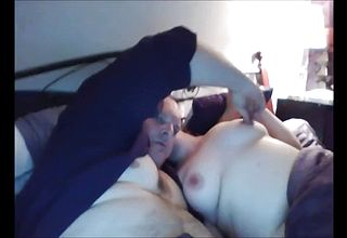 Barebacked round Milf receives a Rock firm Dong In Her Labia