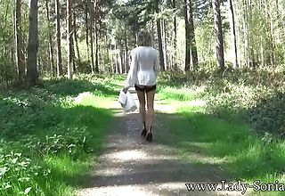 L Sonia wanders down the Gorgeous Path of Chestnuts
